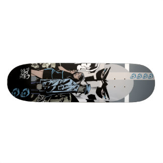 The Crooked Owl Skate Deck