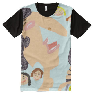 The Crooner All The Girls Went Crazy For All-Over-Print T-Shirt