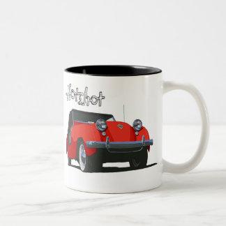 The Crosley Hotshot Two-Tone Coffee Mug