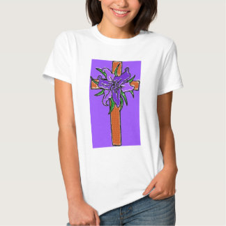 The Cross And Lilly T Shirt