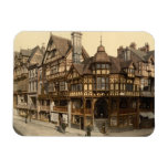 The Cross and Rows, Chester, Cheshire, England Rectangular Photo Magnet