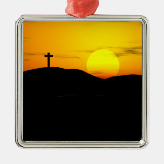 The Cross and the Sun Ornament