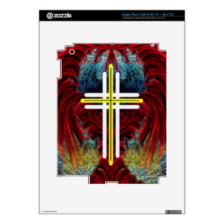 The Cross and the wings. Decals For iPad 3