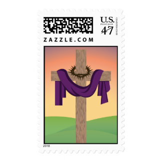 The Cross At Sunrise Postage