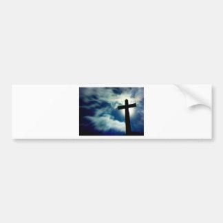 The Cross Car Bumper Sticker