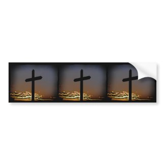 The Cross Bumper Stickers
