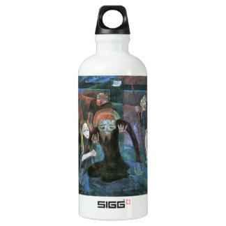 The cross by Walter Gramatte Water Bottle