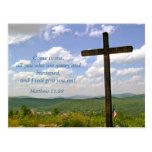 The Cross, Easter Service Invitation Postcard