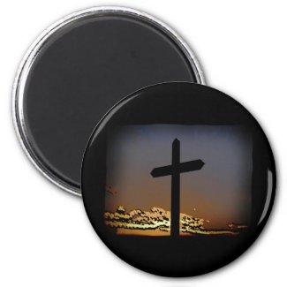 The Cross Fridge Magnet