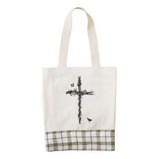 The Cross - Heart Tote