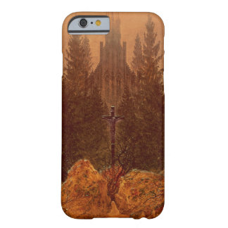The Cross in the Mountains, 1812 (oil on canvas) Barely There iPhone 6 Case