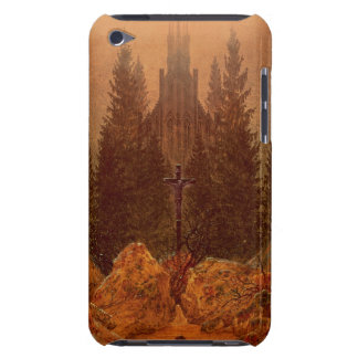 The Cross in the Mountains, 1812 (oil on canvas) iPod Case-Mate Case