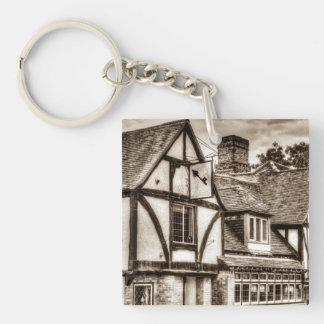 The Cross Keys Pub Dagenham Single-Sided Square Acrylic Keychain