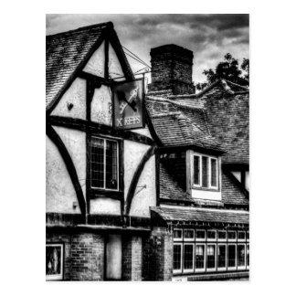 The Cross Keys Pub Dagenham Postcard