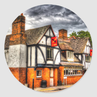 The Cross Keys Pub Dagenham Classic Round Sticker