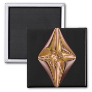The Cross 2 Inch Square Magnet