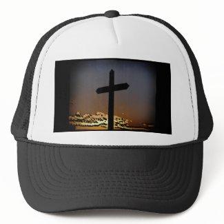 The Cross Mesh Hat