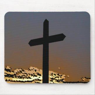 The Cross Mousepad