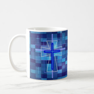 The Cross on ceramic tiles. Coffee Mug