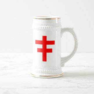 The Cross Pattee of The Scottish Knights Templar Beer Stein