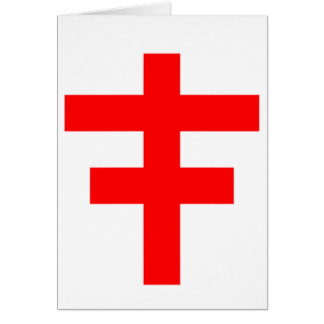 The Cross Pattee of The Scottish Knights Templar Card