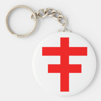 The Cross Pattee of The Scottish Knights Templar Keychains