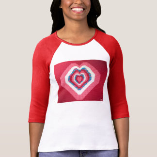 The Cross Stitched Heart Shirt by Julia Hanna