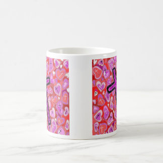 The Cross, the Hearts, the Reds,and the Pinks..... Coffee Mug