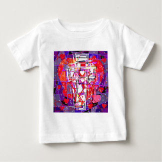 The Cross with hearts. T Shirt