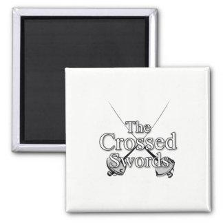The Crossed Swords Magnet