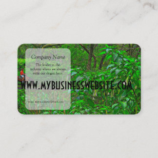 The Crossing By The Trees Business Card