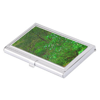 The Crossing By The Trees Business Card Case