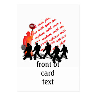 The Crossing Guard Photo Frame Business Card Templates