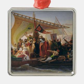 The Crossing of the Bosphorus Metal Ornament