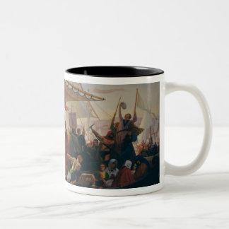 The Crossing of the Bosphorus Two-Tone Coffee Mug