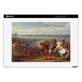 The Crossing of the Rhine, 12th June 1672 (oil on Laptop Skins
