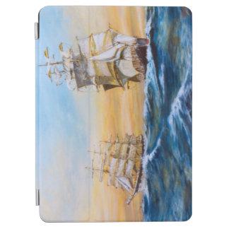 The Crossing Tall Ships Original Fine Art iPad Air Cover