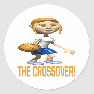 The Crossover Classic Round Sticker
