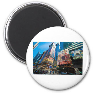 """The Crossroads of the World"" Magnet"