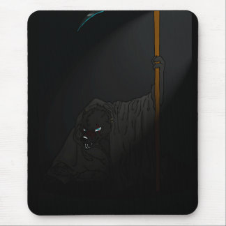 The crouching reaper mouse pad
