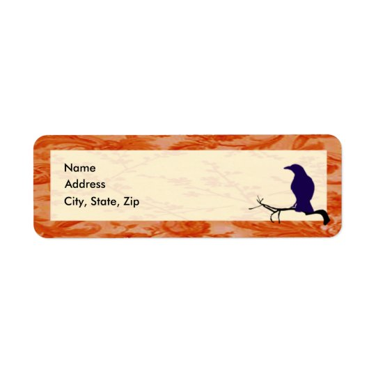 The Crow Address Labels Template
