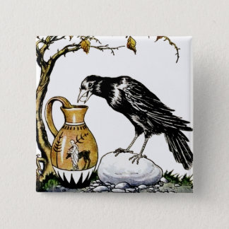 The Crow and the Pitcher Button