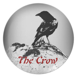 The Crow Collection Dinner Plate