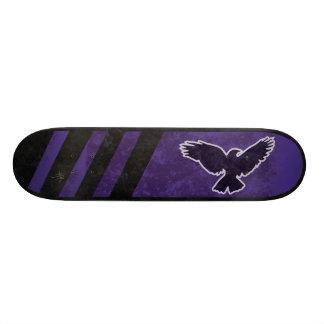 The Crow Flies Purple Skateboard