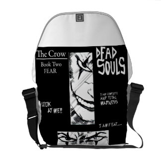 the crow messenger bags