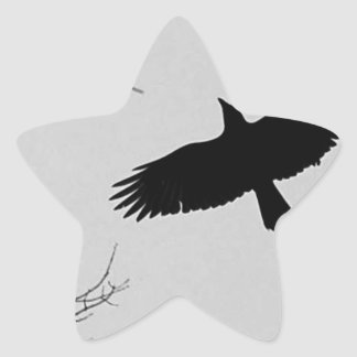The Crow Star Stickers