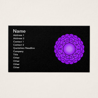 The Crown Chakra Business Card