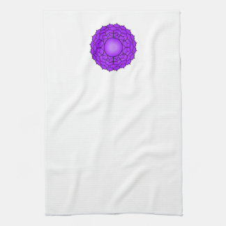 The Crown Chakra Hand Towel