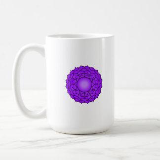 The Crown Chakra Classic White Coffee Mug