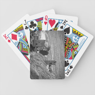 The Crown Mines engine houses, Botallack, Cornwall Bicycle Playing Cards
